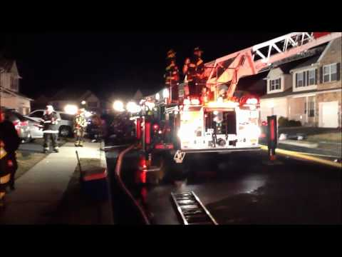 PALMER TOWNSHIP 2ND ALARM TOWNHOUSE FIRE 2-27-12
