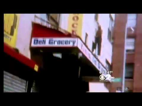 Daring Leap, Elderly Man Leaps Out Window Escape Bronx Apartment Fire(Caught on Tape