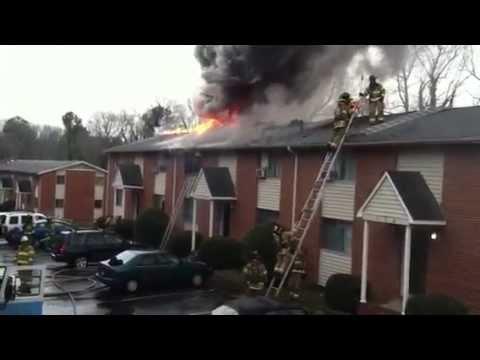 Chapel Hill, NC Apartment Fire