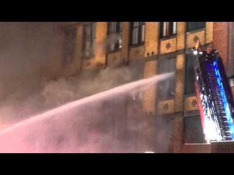 Firefighters Battle Massive Boston Blaze