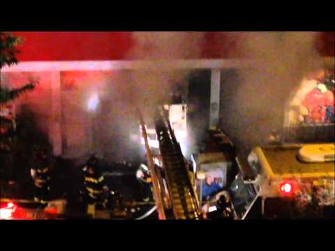 Bronx Five-Alarm Supermarket Fire