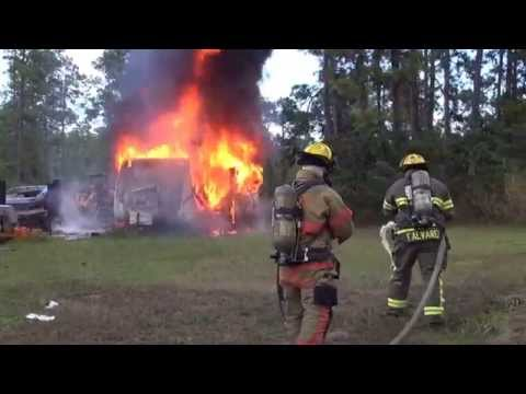 Lehigh Acres (FL) Trailer Fire