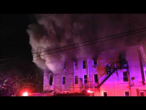 Allentown Firefighters Battle 2nd Alarm Eastside Fire - 3.17.16