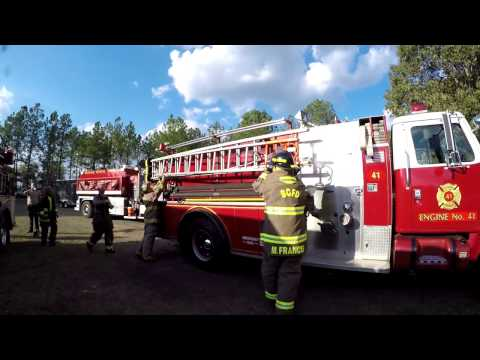 Bleckley County, GA Structure Fire