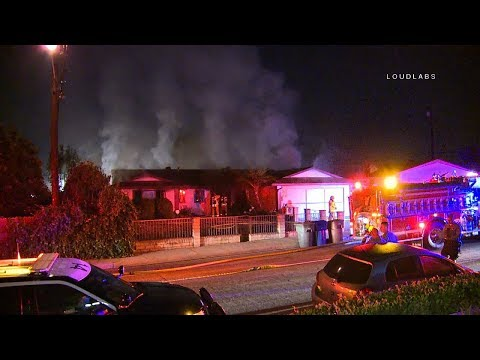 La Puente, CA House Fire