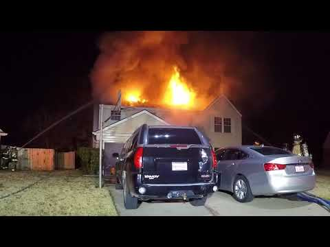 Euless, Texas Two-Alarm House Fire
