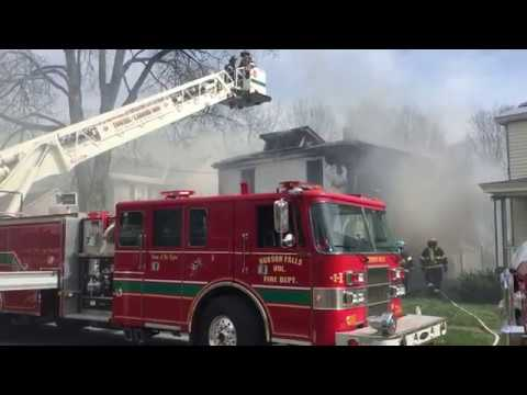 Hudson Falls, NY Structure Fire
