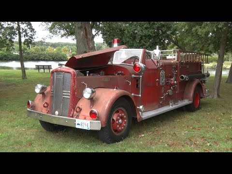 2018 Rhode Island Antique Fire Apparatus Society Firetruck Show 9/9/18