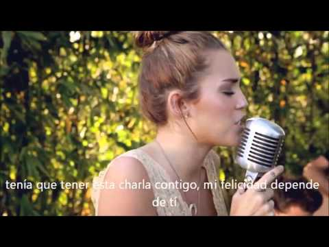 Miley Cyrus-The Backyard Sessions- .  Jolene. Subtitulado Español