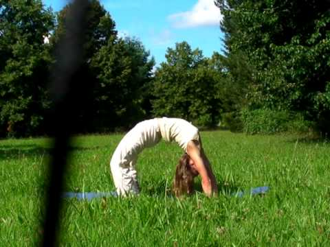 Chakrasana Yoga Wheel Variations