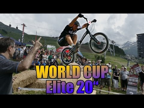 "UCI Trials Worldcup Les Menuires 2016 20"" Finals"
