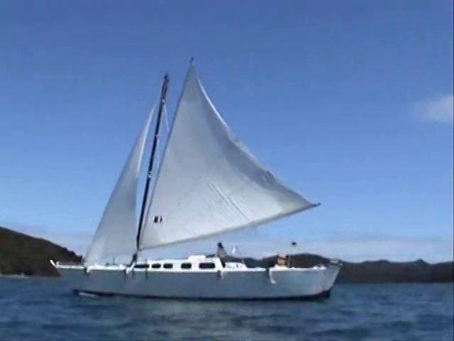 tiki46 wakataitea under sails
