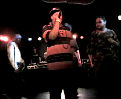 """M.C. WAR FLATTOP"" AT THE ""LYRICAL FUSION SOUTHPAW"" VIDEO TAPEING THA SHOW Pt.23"