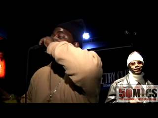RAP ARTIST MIKE M.O.E.T  FEAT. R&B's JONES,C. LIVE@ THE 50 MICS TOURNAMENT