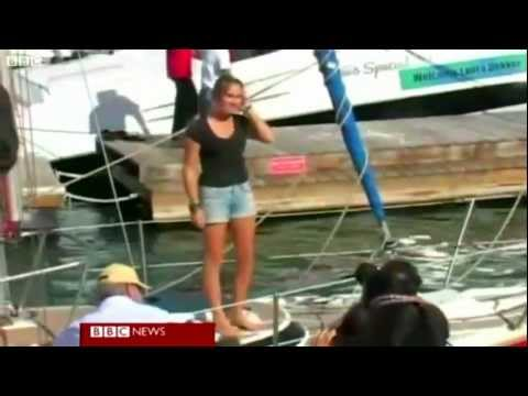 Laura Dekker Around the World Sailor