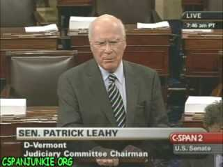 Sen Leahy: New Report Confirms Dems Worst Fears About Bush And Dept Of Justice