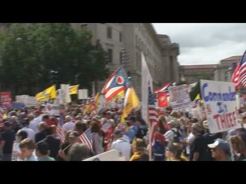 Some more footage of the march on Washington 9/12