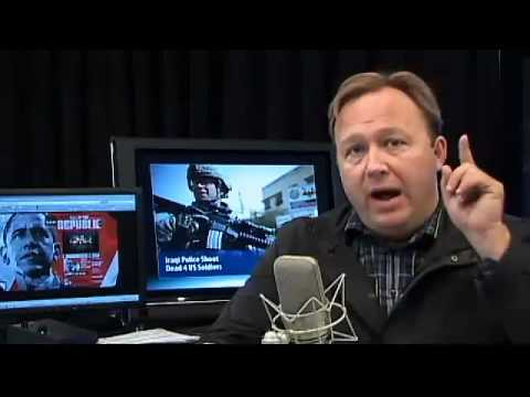 "Alex Jones Tv 2/2:Obama's ""National Emergency"" Violates the Constitution"