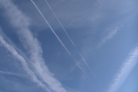 Chem Trails -Cleveland OH