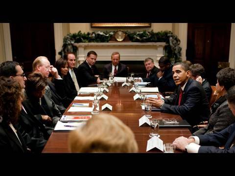 President Obama Speaks After Meeting with Community Bank CEOs