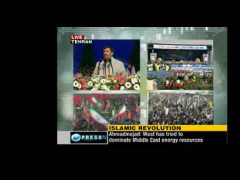 President Ahmadinejad Speech on Iran's 31st Revolution Anniversary Part 1 of 6