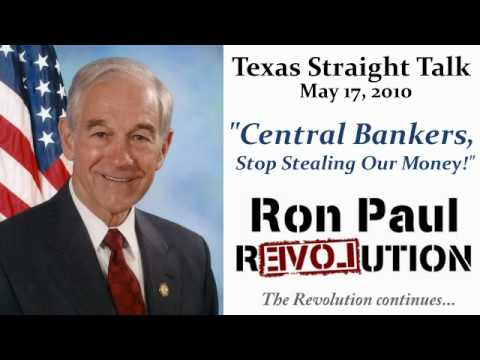 Central Bankers, Stop Stealing Our Money!