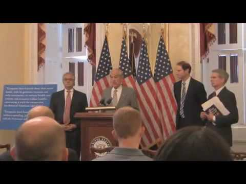 Ron Paul Press Conference: Cut Wasteful Military Spending!