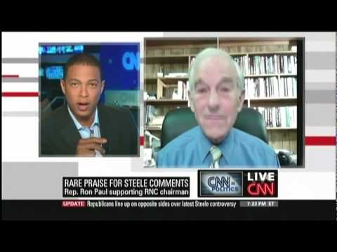 Ron Paul on CNN: This is Obama's War! End it now!