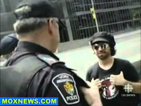 "Cop Tells G20 Protester ""This Is Ain't Canada Right Now"""