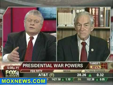 Ron Paul: We Tried Last Week To Bring Our Troops Home From Afghanistan & Now We're In Another War!