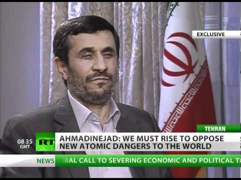 Ahmadinejad to RT: Europe & US need freedom most of all (Exclusive Interview)