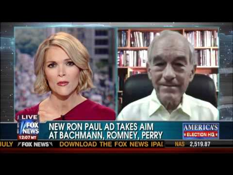 Ron Paul on America Live with Megyn Kelly