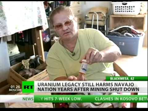 Navajo nation contaminated by uranium ore