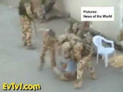 Caught on Tape - British Soldiers Beating Iraqi Children
