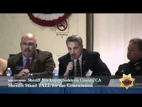California Sheriffs Threaten Feds For Usurping the Constitution!