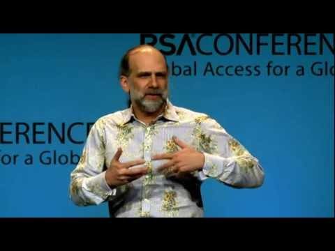RSA Conference 2012 - New Threats to the Internet Infrastructure - Bruce Schneier