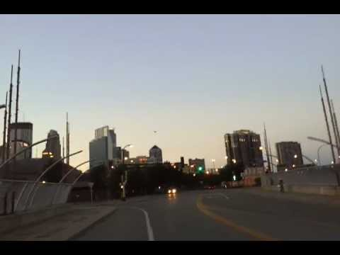 Minneapolis SOCOM Military Exercise downtown helicopter below building line