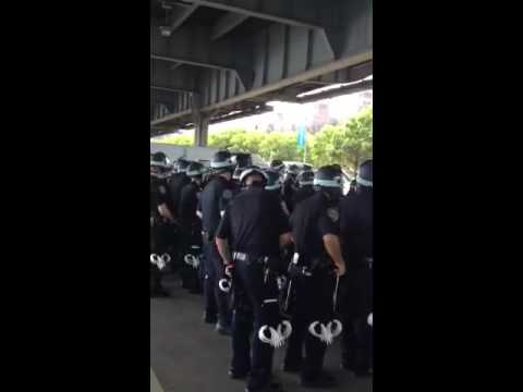 NYPD Prepping Mass Arrests for Occupy Wall St. Anniversary?