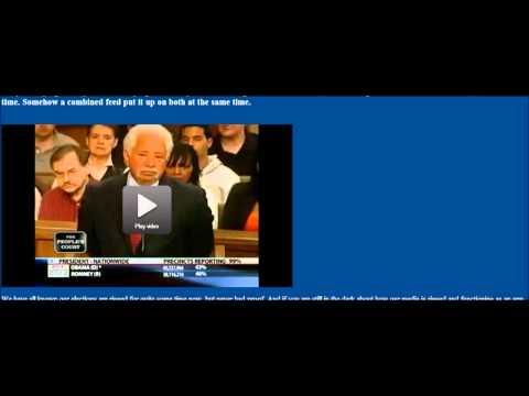 Major Media Blunder : Obama wins election (October 24, 3012)