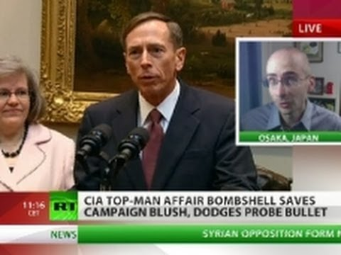 Petraeus Gagged? 'Scandal timing may mean political cover-up'