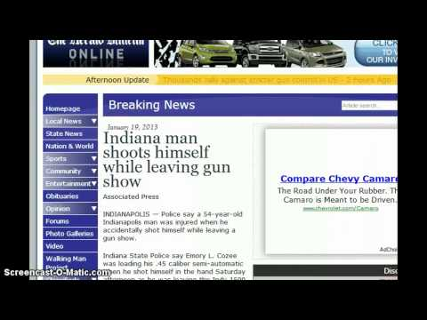 Whats the Odds    3 Shootings at 3 Gun shows with 5 people injured within 5 hours . Gun Safety !!.