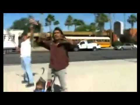How Native American Confronts Protesters on Illegal Immigration