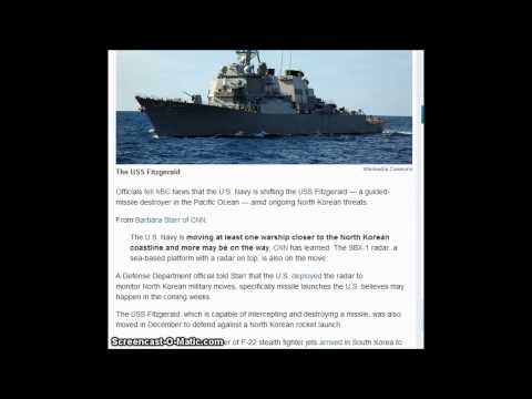 US Navy Moving Warship Closer To North Korea In Response To Threats