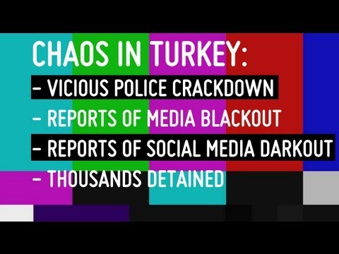 Turkish Gov't Shuts Down Twitter & Facebook Access to Prevent Protests from Growing