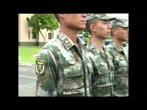 Chinese soldiers arrive in USA for joint exercise