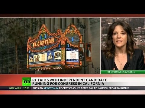 Independent candidate, Marianne Williamson, fights to represent California in Congress