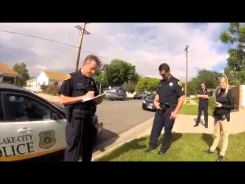 Interaction with Salt Lake City police after officer shot dog