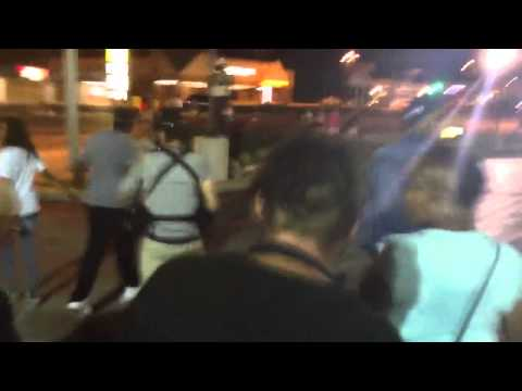 BUSTED! - Provocateur Caught Throwing Bricks At Ferguson Police