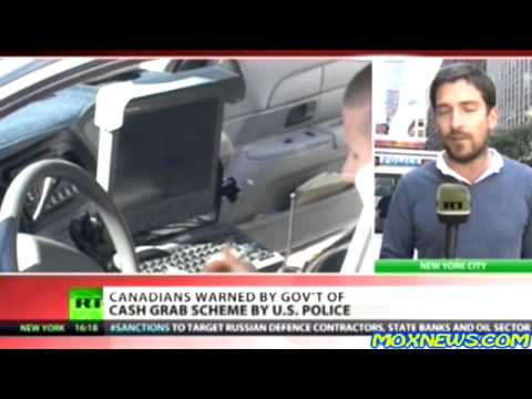 Canadian Government WARNS It's Citizens About The DANGER Of Criminally Corrupt U.S. POLICE!