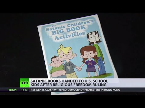 Satanic Books Handed to US Children at Florida Schools